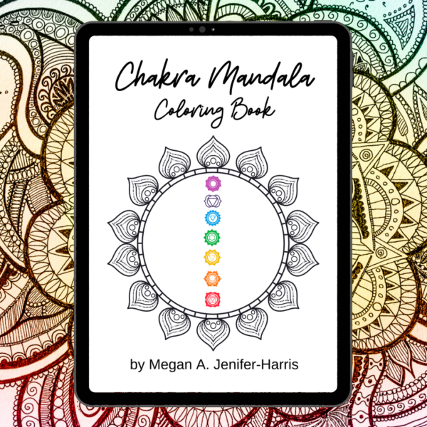 Chakra Mandala Coloring Book
